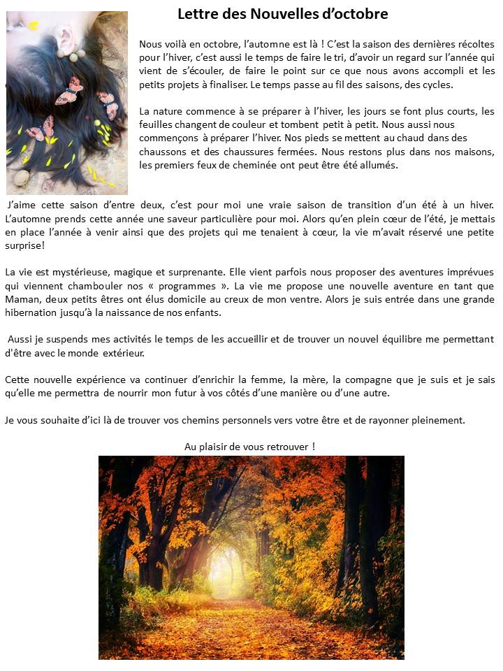 Lettres des Nouvelles d'Octobre